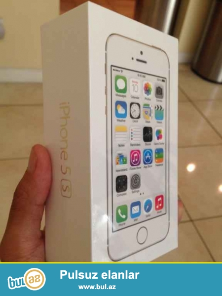 Apple iPhone 5S-Space Gray-16GB.<br /> istifadəçi manual:<br /> Brand Apple<br /> Network Factory Unlocked<br /> MPN iPhone 5S 16GB<br />