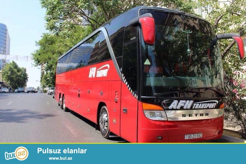 AFN Transport - sərnişin daşınmada lider şirkətlərdən biridir...