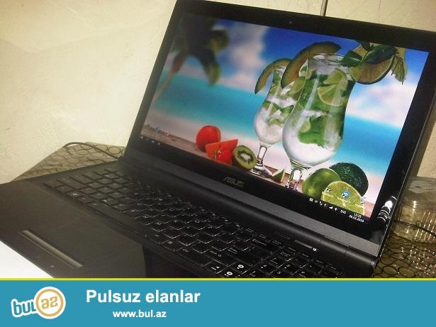 Asus UX50V...UltraBook.<br /> HDD-500;.Ekran-15.6(Maye kristal)<br /> Ekranin ustunde Qoruyucu Suse...