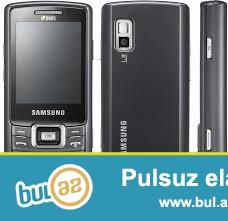 Samsung C5212 duos mobil telefonu<br /> Duos iki simkartlı mobil telefon<br /> Telefon yenidir