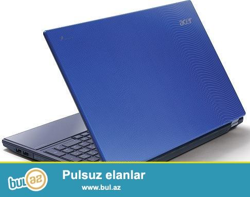 Marka: Acer <br /> Model:travelmate 5760 <br /> Vəziyyət:işlənmiş <br /> Rəng:mavi <br /> Prosessor:İ3 <br /> Operativ yaddaş:4 Gb <br /> Sərt disklər:300Gb <br /> Sistem: Windows