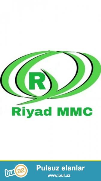 RIYAD MMC TECRUBELI QAYNAQCI TEKLIF EDIR. TEL.0124362739...