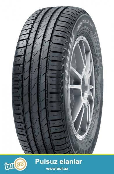 Новые летние шины Nokian Hakka Blue SUV – Комфортные и прочные как никогда раньше<br /> <br />  <br /> Новые шины Nokian Hakka Blue SUV от Nokian Tyres – это шины для внедорожников, способные выдерживать большие нагрузки и позволяющие экономить топливо...