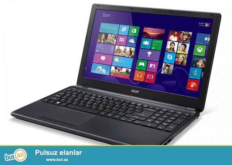 Təcili Acer notebook satılır.Modeli E1-572G-74508G1T MNKK B...