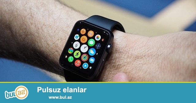Smart Watch ( Ağıllı saat )<br /> - Telefon kimi istifadə olunur<br /> - Sim kart - Micro cart<br /> - Facebook<br /> - Twitter<br /> - Blutuz ( tele gələn zənglərin qəbulu üçün )<br /> - Ön kamera<br /> - internet browser<br /> - Navigator<br /> - Muzik player<br /> --- kalendar , gələn gedən və cavabsız zənglərin listi , kakulyator , blutuz , şəkil üçün galerya , idman zamanı yeridiyiniz addım proqramı, səs zapsı , və s əlavə programlar...