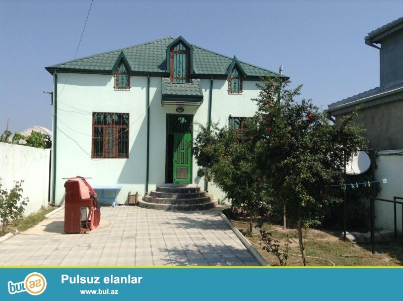 Sabunçu rayonu, albalı bağları ərazisində, Aida Parkın arxasında, 3 sotun içərisində tikilmiş, ümumi sahəsi 159 kv...