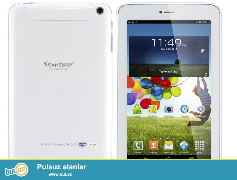 2 Nömrəli planşet Sanei G708 Android 4.2.2<br /> Tecili satilir...