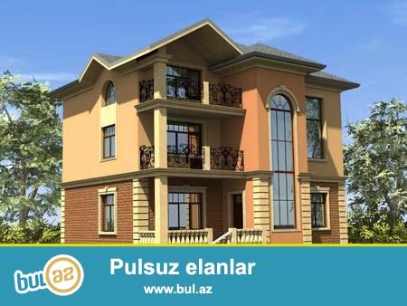 Azerbaycanda en ucuz qiymetlerle,  tecrubeli  memarlar  terefinden  istenilen uslubda evlerin, villalarin, ticaret obyektlerinin eskiz ve ishchi layihelerinin ishlenmesi  (LİSENZİYA ve MOHURLE)...
