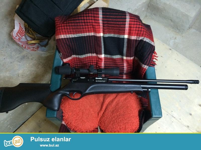 PCP Gamo Dynamax kalibr 4,5mm, 232bar Sixilmish hava tezyigi ile ishleyir,istehsalat Ingiltere (model Ispaniya)...