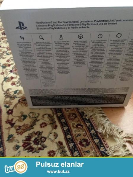 playstation 3 500gb satilir ela isleyir ustunde hdmi sunurda verilir oyunlar var icinde oyunlarin adi sekilde var <br /> qiymet razilasa bilerik bele 280 azn<br /> <br /> whatsapp 0506594135