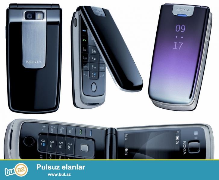 Nokia 6600 fold mobil telefonu<br /> Made in Finlandiya<br /> Orginallğın imei kodu ilə yoxlamaq mümkündür<br /> Ciddi real alıcılar zəng edə bilər<br /> Müxtəlif növ telefonlar mövcuddur
