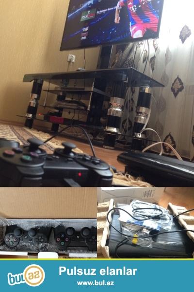 playstation 3 500 gb yaddas teze kimdi problemsizdi iki jostik oyun pultu...
