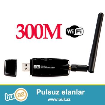 USB wifi Qebul edici(Adaptor)<br /> whatsappla elaqe saxlaya bilersiz...