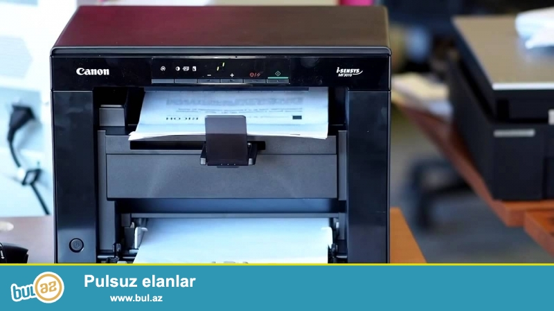 Tecili Canon MF3010 printeri satilir! Ideal veziyyetdedir...