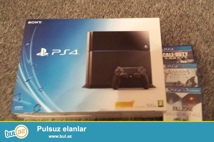 SONY PS4 Playstation4 CUH-1205A B01 Video Oyun Konsolu...