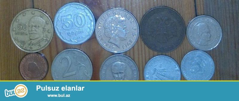 10 ədəd qəpik satılır <br /> 1. 50 cent euro <br /> 2...