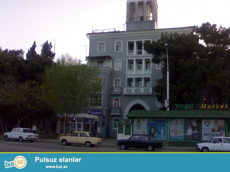 Sumqayitda H.Aliyev prospekti,20-ci mehelle bina 20/29-da(kohne dejurna maqazasinin binasinda)umumi sahesi teqriben 100 kv...