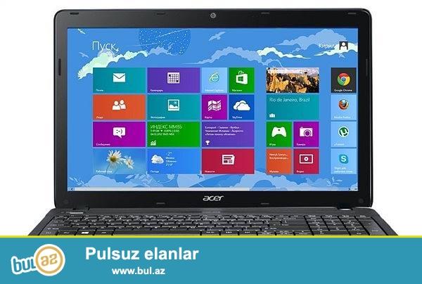 Təcili Acer notebook satılır.Modeli TMP253-M-33114G50MNKS...