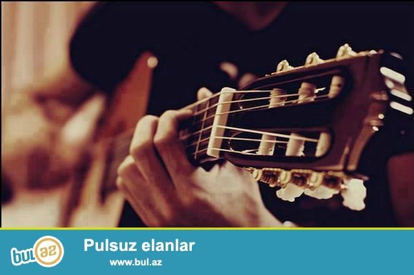 Gitara dərsləri həftədə iki dəfə sizin boş vaxtınıza uygun olaraq seçilir...