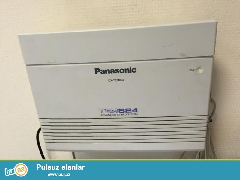 Panasonic TEM 824   mini ats satilir. cemi iki ay isledilib...