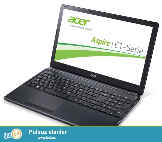 Təcili Acer notebook satılır.Model E1-572G-74508G1T MINII G...