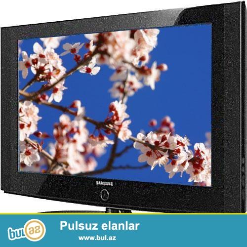 """""""Samsung"""" LCD HD TV (82 sm)<br /> <br /> SAMSUNG LA32A330 LCD HD TV<br /> <br /> Ekran ölçüsü (Diaqonal) 32"""" (82sm) <br /> Ekranın oturacağı hərəkətli <br /> Ölçü nisbəti 16:9 <br /> Piksel rezalusiyası 1366 x 768 <br /> Parlaqlıq 500cd/m² <br /> Kontrast nisbəti 8000:1 <br /> Baxış bucağı 178°<br /> <br /> Giriş / Çıxış Bağlantıları <br /> RF x 1 <br /> HDMI x 2 <br /> S-video <br /> PC x 1 <br /> Çıxışlar Qulaqlıq x 1 <br /> Optik Dijital Səs x 1"""