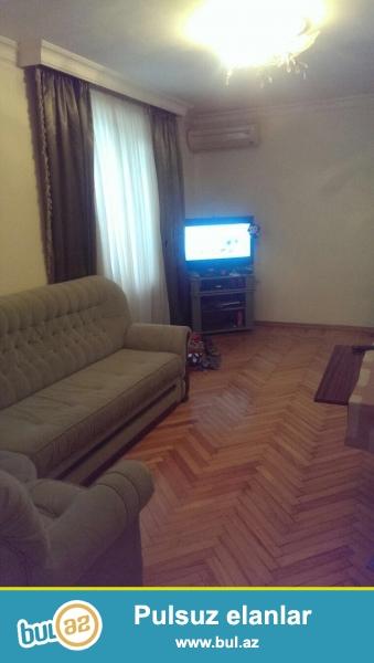 Сдается 2-х комнатная квартира в центре города, в Ясамальском районе, рядом с метро Низами...