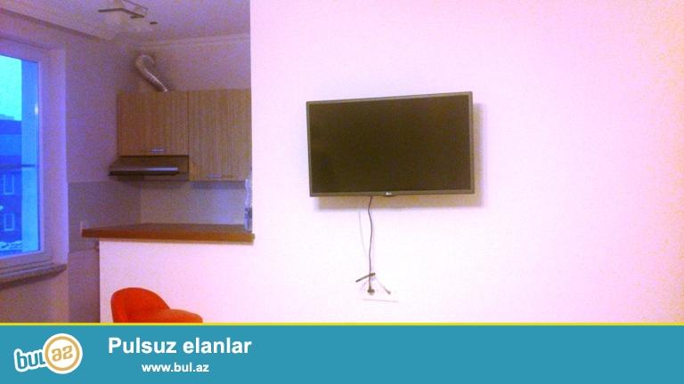 Cдается 1комнатная квартира в центре города, в Ясамальском районе, по проспекту Тбилиси, рядом с отелем «Европа»...