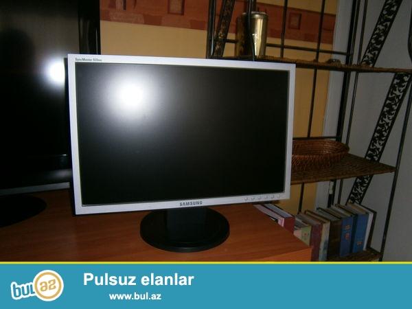 Samsung SyncMaster 920NW. <br /> Ela veziyetdedi,az ishlenilib,16:9'dur...