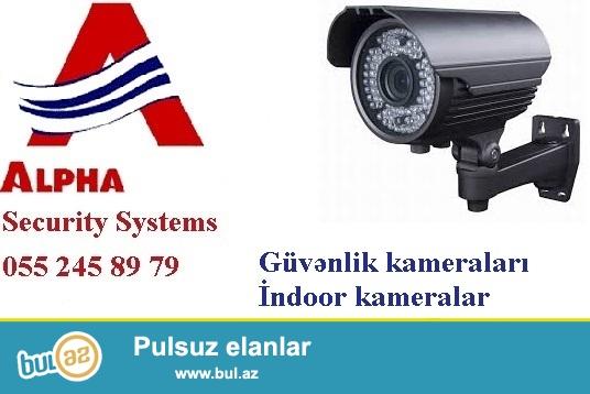 Tehlukesizlik kameralari  055 245 89 79<br /> <br /> Tehlukesizlik-nezaret kamerasi ve sistemi - Layihelesdirme, quraşdırılması, çatdırılması, quraşdırılması, xidmet ve temir...