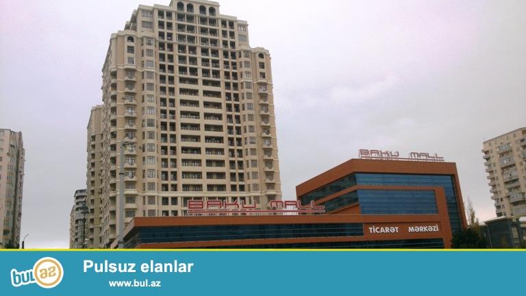 Новостройка!! Cдается 3-х комнатная квартира в центре города, в Ясамальском районе, по проспекту Матбуат, над «Baku Mall»...