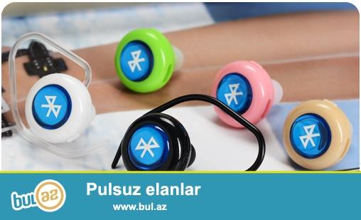 Yeni blutuz qulaqclq butun model telefonlara qoşulur<br /> Çatdırılma pulsuz<br /> <br /> 1 Bluetooth Ver: v3...