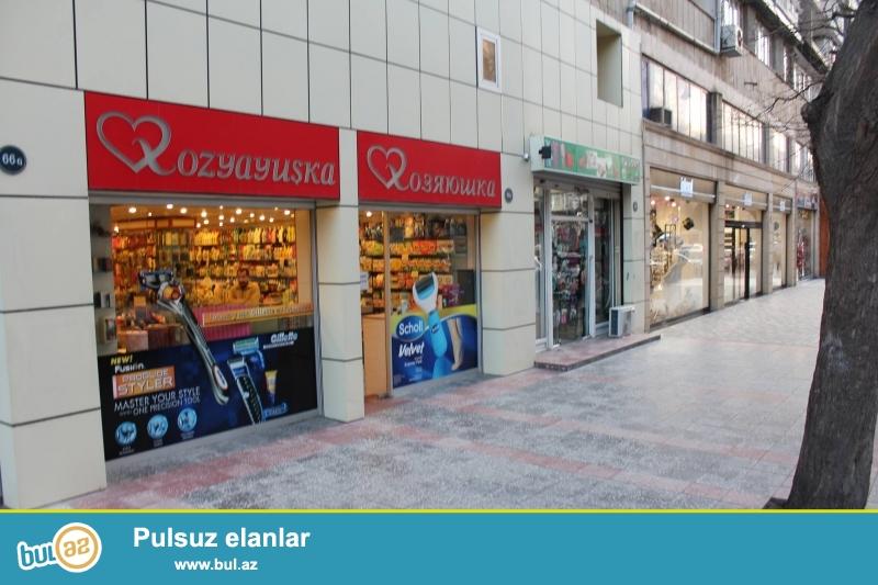 Şəhərin mərkəzində Xəqani küçəsində metro yaxinliqinda obyekt arendaya verilir...