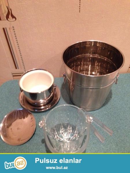 YENI---şampan şərab araq üçün bucket və buz üçün əşyalar