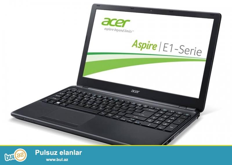 Təcili Acer notebook satılır.Modei E1-572-34014G50MNII...