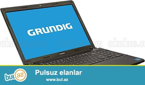 Təcili Grundig 1588B1 notebook satılır.Core i5. RAM 4GB...