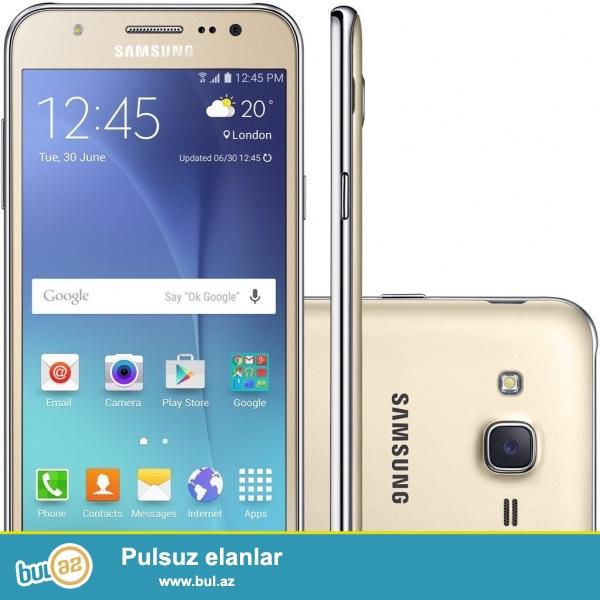 Yeni,qutuda Samsung J500 mobil telefonu.Mənə başqa telefon hədiyyə olunduğu üçün Samsung J500ü satıram...