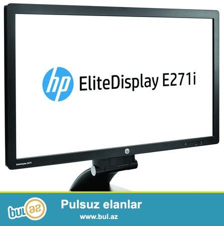 Satılır HP Elite Display E271i<br /> <br /> Tel: +99412 498 87 04<br /> Mob: +99450 310 03 32<br /> Mob: +99470 310 03 32<br />