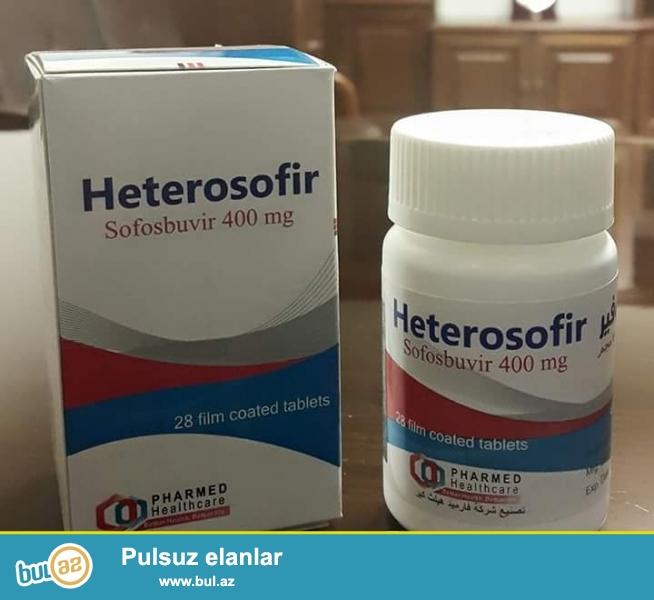 Hepatit C(1-2-3-4genatiplere)aid HINDISTAN-MISIR istehsali olan...