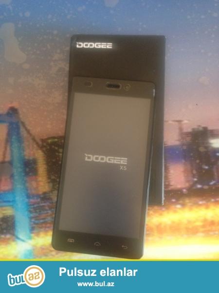 Salam Doogee X5 telefonu telefonu tep  tezedir.teze getirilib azerbaycana...