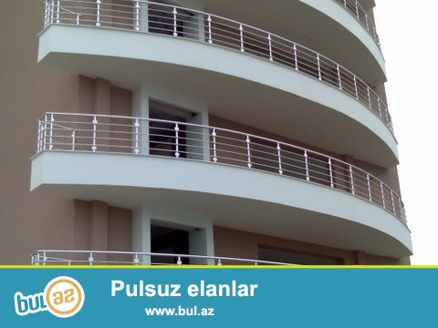 Pilləkan və balkon qırağı nerj, alüminium və şüşə məhəccərlər...