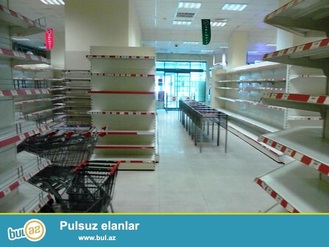 Продается готовый супермаркет в Бинагадинском районе, в 9 МКР-е , рядом с домом торжеств «Тарлан»...