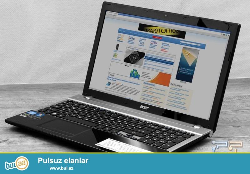 Təcili Acer notebook satılır.Modeli V3-571G-53236G50 MAKK...