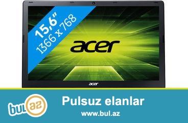 Təcili Acer notebook satılır.Modeli E1-572G-54206G50MNKK...
