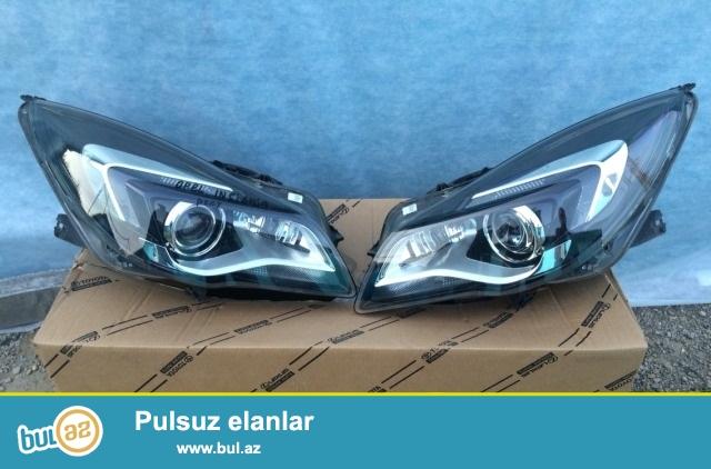 Фара левая правая Opel insignia рестайлинг ксенон цена за одну