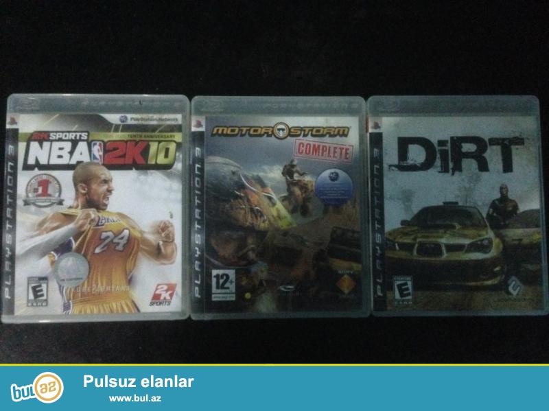 PS3 diskləri satılır. Hər biri 10 AZN. 3nü alana 25 AZN...