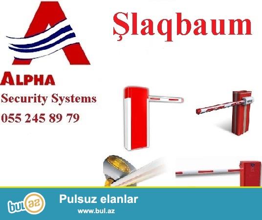 Slaqbaum. 055 245 89 79<br /> <br /> Alpha Security sirketi avtomotik maneeler – slaqbaumlar teklif edir...