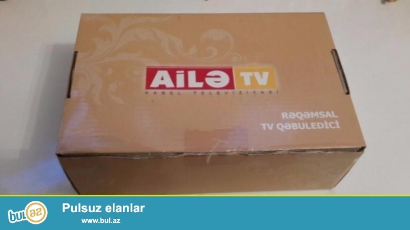 AILE TV FULL HD HDMI USB YERI REQEMSAL QEBULEDICI SATILIR
