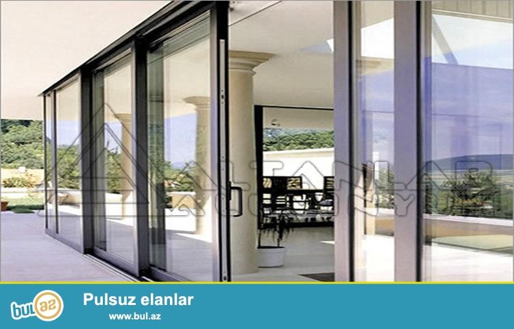 cam balkon , qapi pencerelerin  ve istenilen surgu sistemlerinin sifarishi ve yuksek seviyyede hazirlanmasi, whatsaap;0702009676...