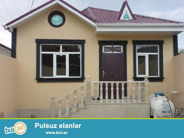 Xırdalan şəhərində  polis bölməsinin yanında 1 sot yarımın içində 3 otaqlı həyət evi satılır ...